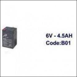Аккумулятор 6V-4.5AH арт. STN758