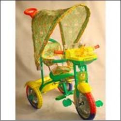 Трехколесный велосипед БИ-БИ ЛАЙНЕР 107-1БК green арт. JKTR 026