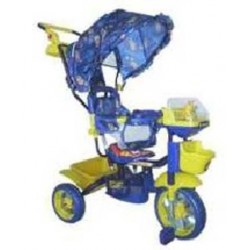 Трехколесный велосипед БИ-БИ ЛАЙНЕР 108S-3NS blue арт. JKTR 013