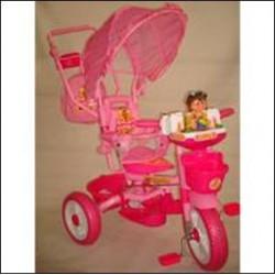 Трехколесный велосипед БИ-БИ ЛАЙНЕР 209-1 pink арт. JKTR 016